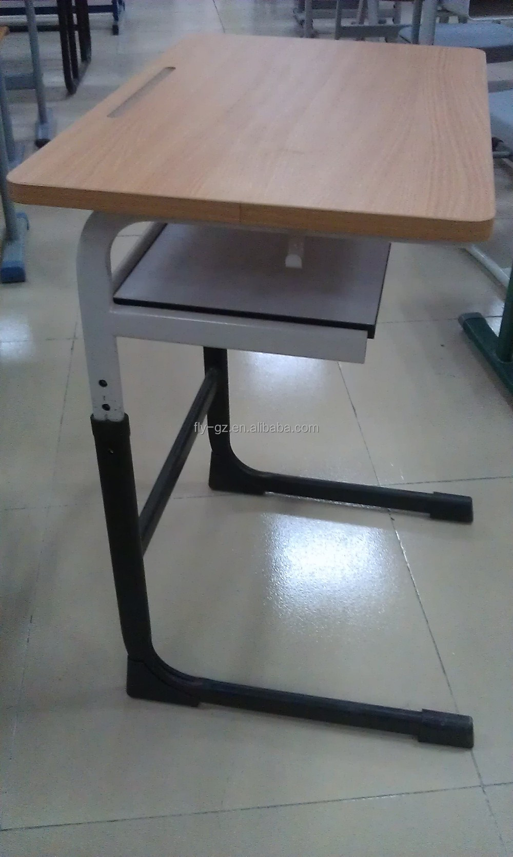 Modern school desk and chair - Height Adjustable Single Modern School Desk And Chair School Desk And Chair In School Sets