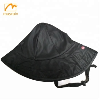PU Rain Hat for Men and Women