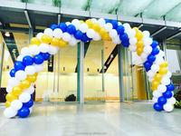 The balloon arch big decoration stuff