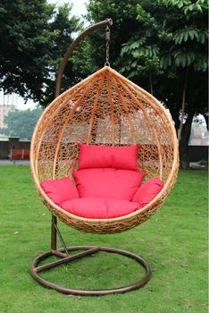 wholesale rattan swing chair egg chair hanging chair garden swing