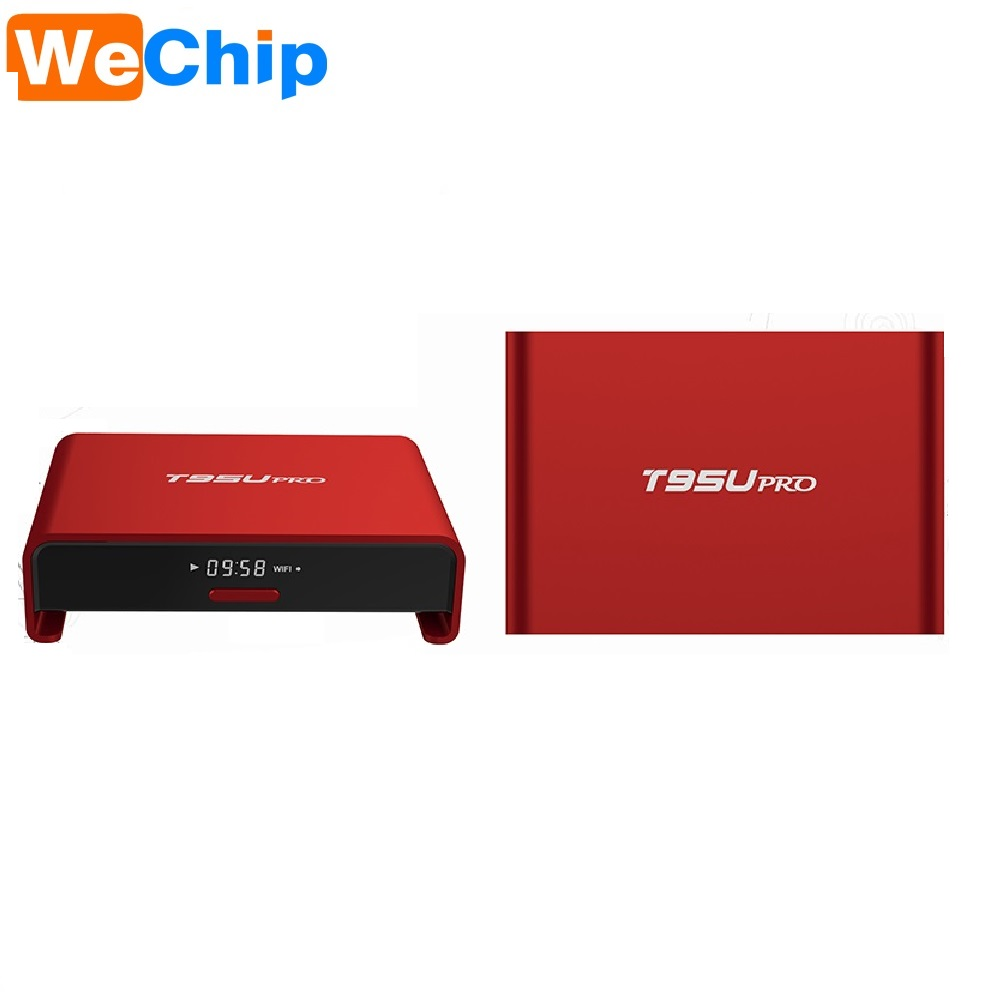 2017 Hotsale 1Chip android 6.0 smart tv box T95U Pro with RAM 2GB ROM 16GB Android TV Box