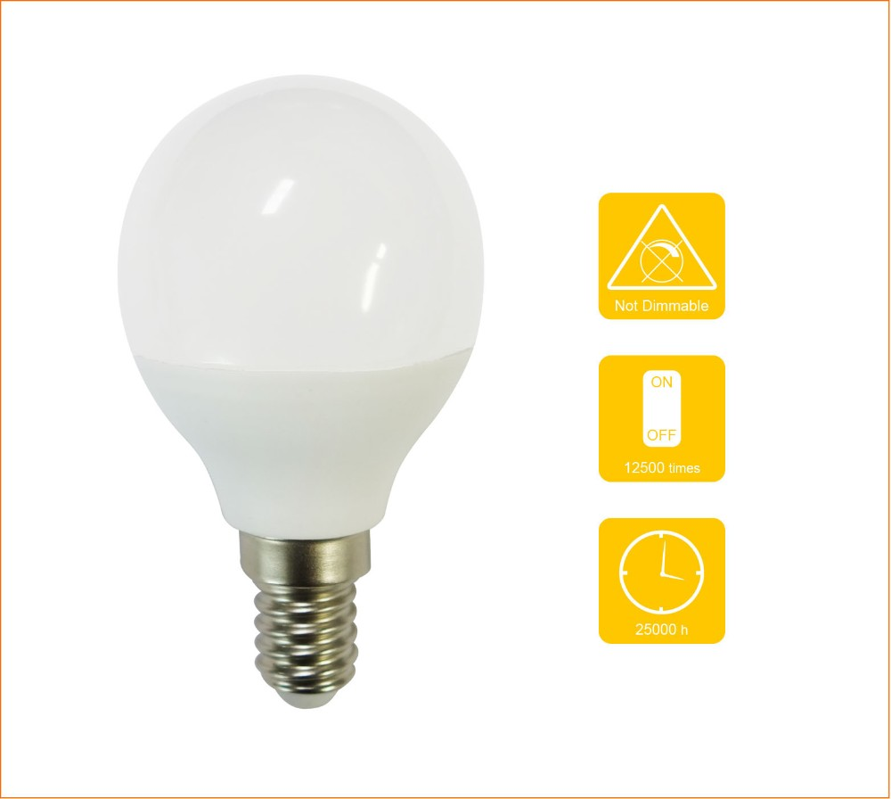 200 Degree Bulb Manufacturer Led Globe Lamp 6w P45 With High Light Efficiency Buy Fast