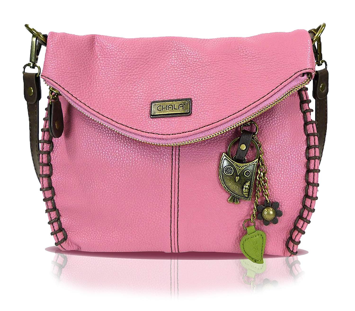 92a290905e31 Get Quotations · Chala Charming Crossbody Bag With Flap Top