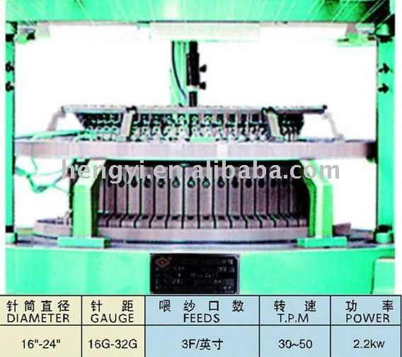 High Speed Mini-Size Single Knitting Machine