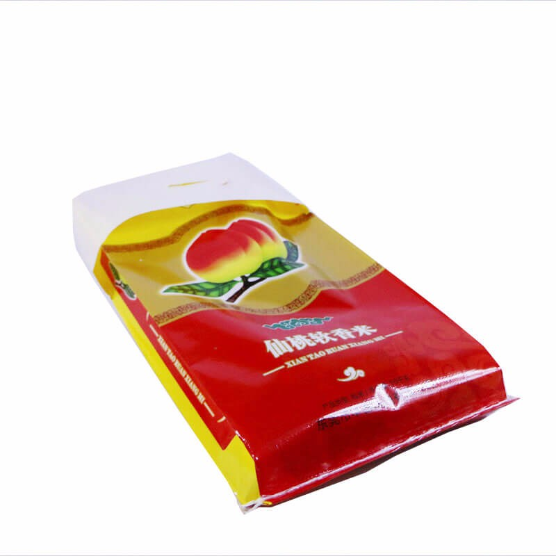 Hot Sale Biodegradable laminated pp woven bag for 25kg Flour Rice Wheat <strong>packing</strong>