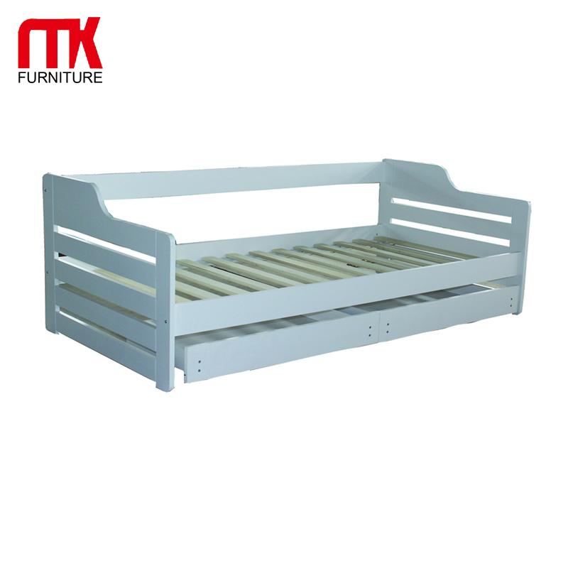 Single Sofa Bed Wooden Multi Purpose