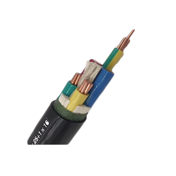 Low Voltage Copper Conductor 0.6/1KV PE insulated PVC sheathed Unarmoured Power electrical Cable