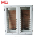 China suppliers GLASS louvre windows aluminium glass louvers window
