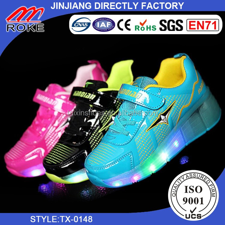 Children Light Shoes For Girls Baby Sneakers LED Sneakers Kids Shoes For Boys Girls