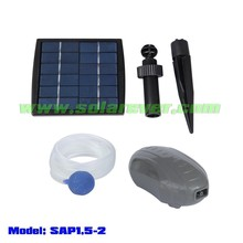 OEM/ODM customization acceptable solar powered pond oxygenator (SAP1.5-2)