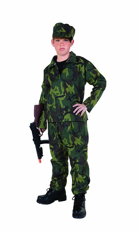 RG Costumes Commando Costume, Child Large/Size 12-14