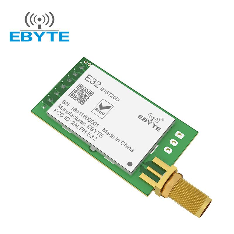 E32-915t20d 3km Lora Sx1278 Sx1276 Rf Transmitter And Receiver Module - Buy  Sx1278 Sx1276 Rf Transmitter And Receiver Module,Sx1278 Sx1276,Rf