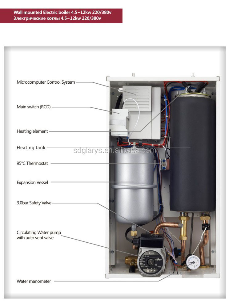 Electric boiler house central heating CE approve Manufacturer ...