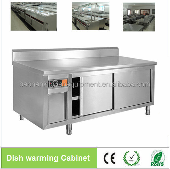 Stainless Steel Commercial Cabinet/prep Tables:dish Warming ...