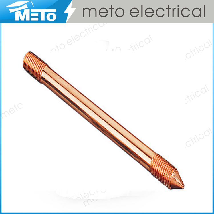 high quality copper clad steel earth rod/copper clad earth rod/copper earth rod