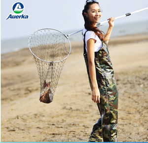 2015High quality PVC material / Camo fishing wader Chest wader for women