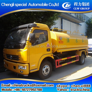 Low price new design tianjin 10000l water tank truck