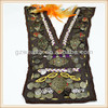 2014 fashion handmade neck trims Embroidery fabric with sequin for girls dress china manufacturer