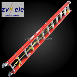 Electric Insulated Fiberglass Extension telescopic Ladder