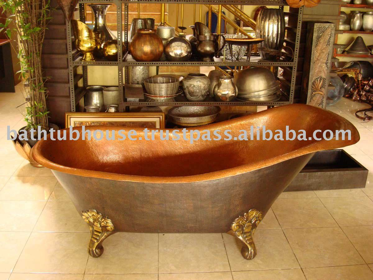 Copper Bathtub Cb014   Buy Copper Bathtubs For Sale,Bathtub,Hammered Copper  Bathtub Product On Alibaba.com