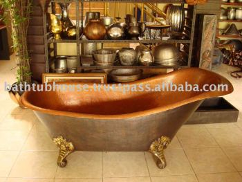 Copper Bathtub CB014