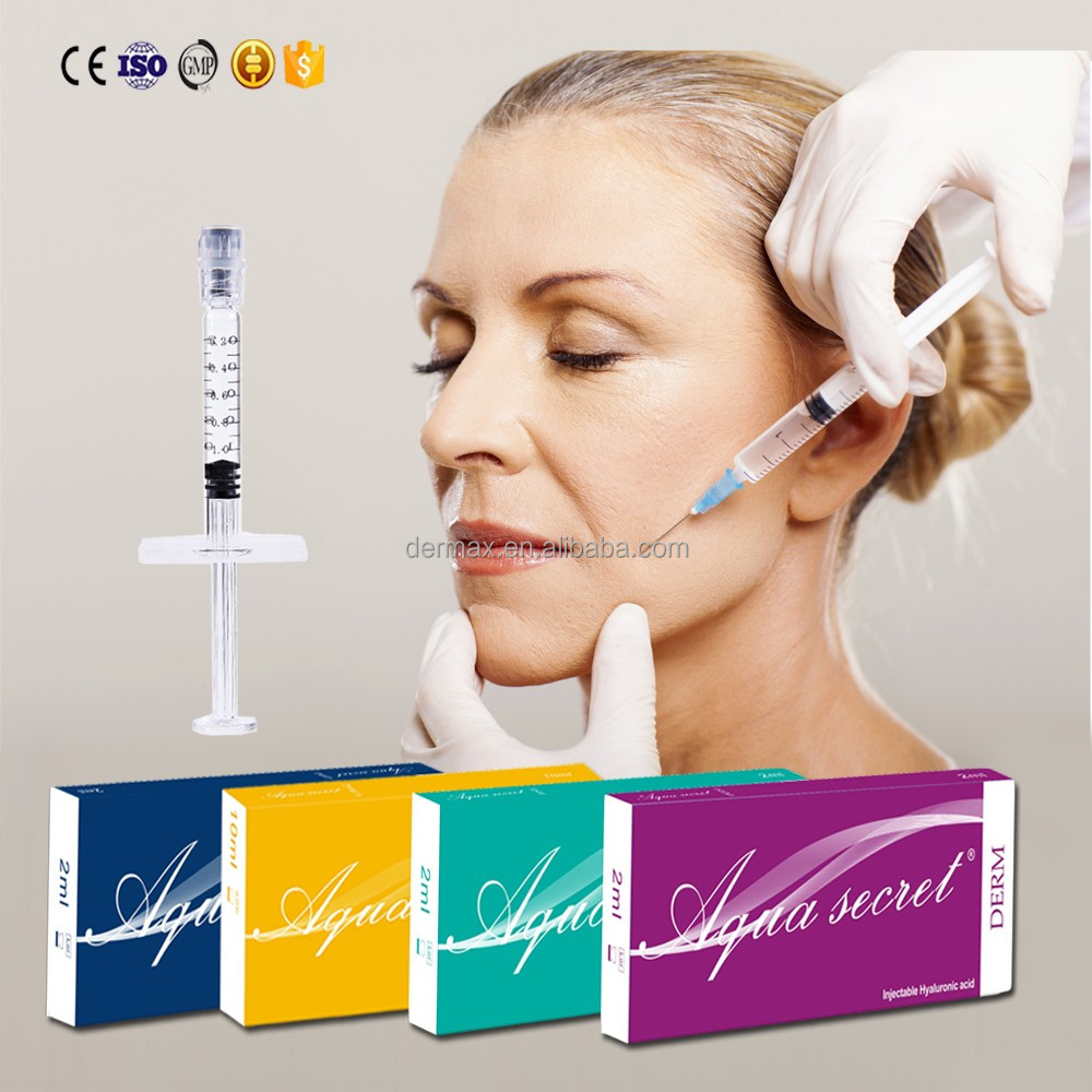 EU high quality Aqua Secret filler injection needles HA filler