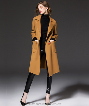 beautiful in colour world-wide selection of low cost 2017 New Style Simple Korea Style Women's Long Coat Made In China - Buy  Woman Coat 2014 2015,Korea Fashion Long Coat,Woman Coat Elegant Product on  ...