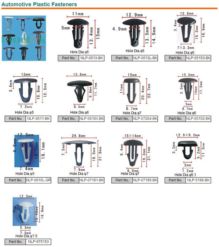 Nylon Rivet Plastic Push Rivets Rivets And Panel Fasteners