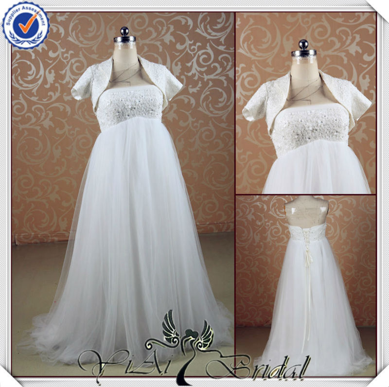 diseñador de jj3541 mujeres embarazadas vestidos de novia embarazada ...