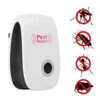 Amazon Best Sellers Portable Ultrasonic Electric indoor outdoor Pest Repeller,Non-Toxic Pest Repeller UK EU US Plug In
