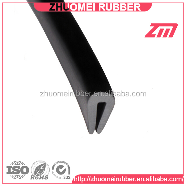 U Channel Rubber Profile Edging Strip Buy Rubber U