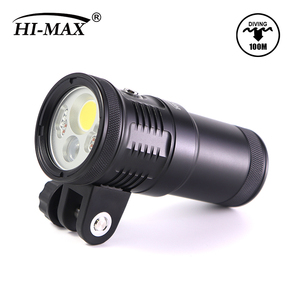 Hi-max Scuba Diving V14Pro 4000lumen Wide Red Blue Pink LED Submersible Lamp Scuba Light