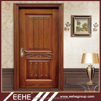 China Manufacturer Latest Design Wooden Pooja Room Doors Design