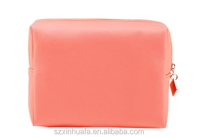 2015 New Fashion Beautiful Luxury Pu Cosmetic Bag