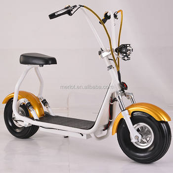 2016 the most fashionable 800W/1000W electric citycoco scooter 2 wheel, adult electric motorcycle