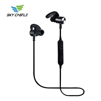 China fashion oem earphone and metal bluetooth mobile phone stereo sport headphone