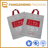 wholesale handbag manufacturers china/hdpe shopping bags with handle bag/cheap plastic handle bag