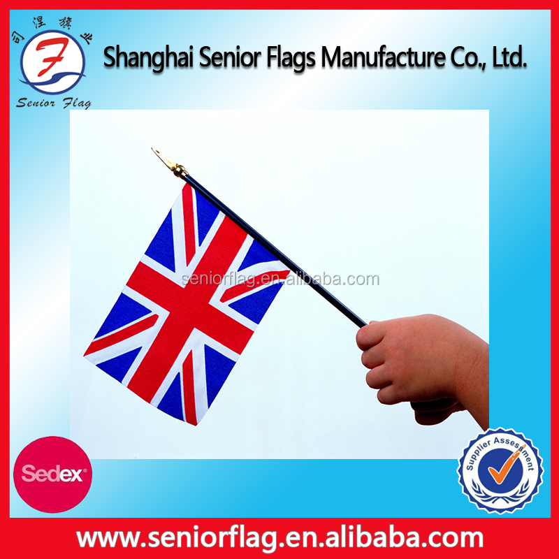 2016 UEFA EURO Polyester Mini Waving Hand Held Flags