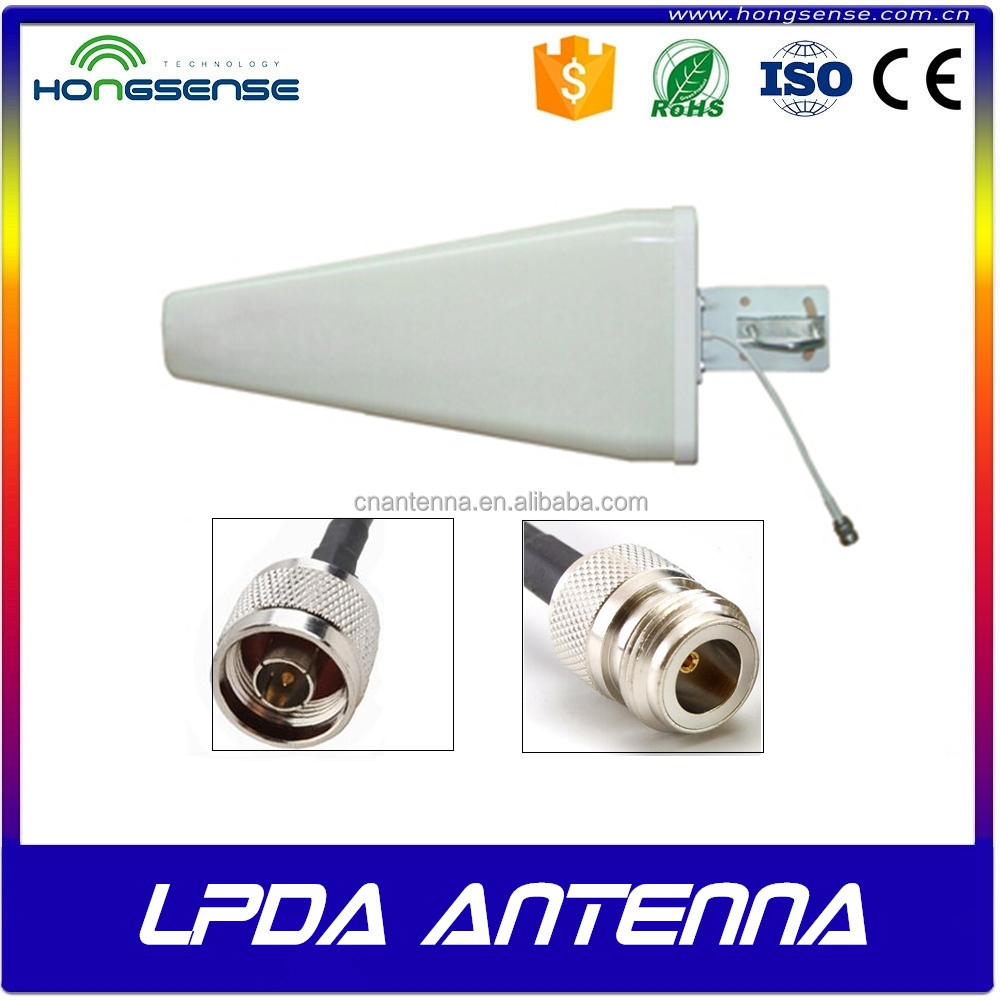 11dBi High Gain 800-2500mhz Outdoor LPDA Antenna for Cell Phone Signal Booster Repeater Amplifier 2G 3G 4G CDMA GSM DCS