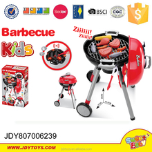 Toys for kids educational boy mobile grill cart electronic toys barbecue grill