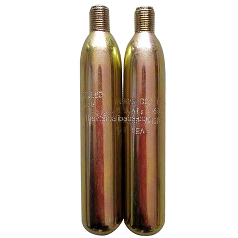 33g small co2 gas cylinder cartridge for many uses