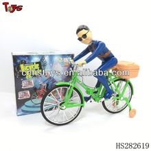 2013 Latest design BO music and light miniature bicycle toy