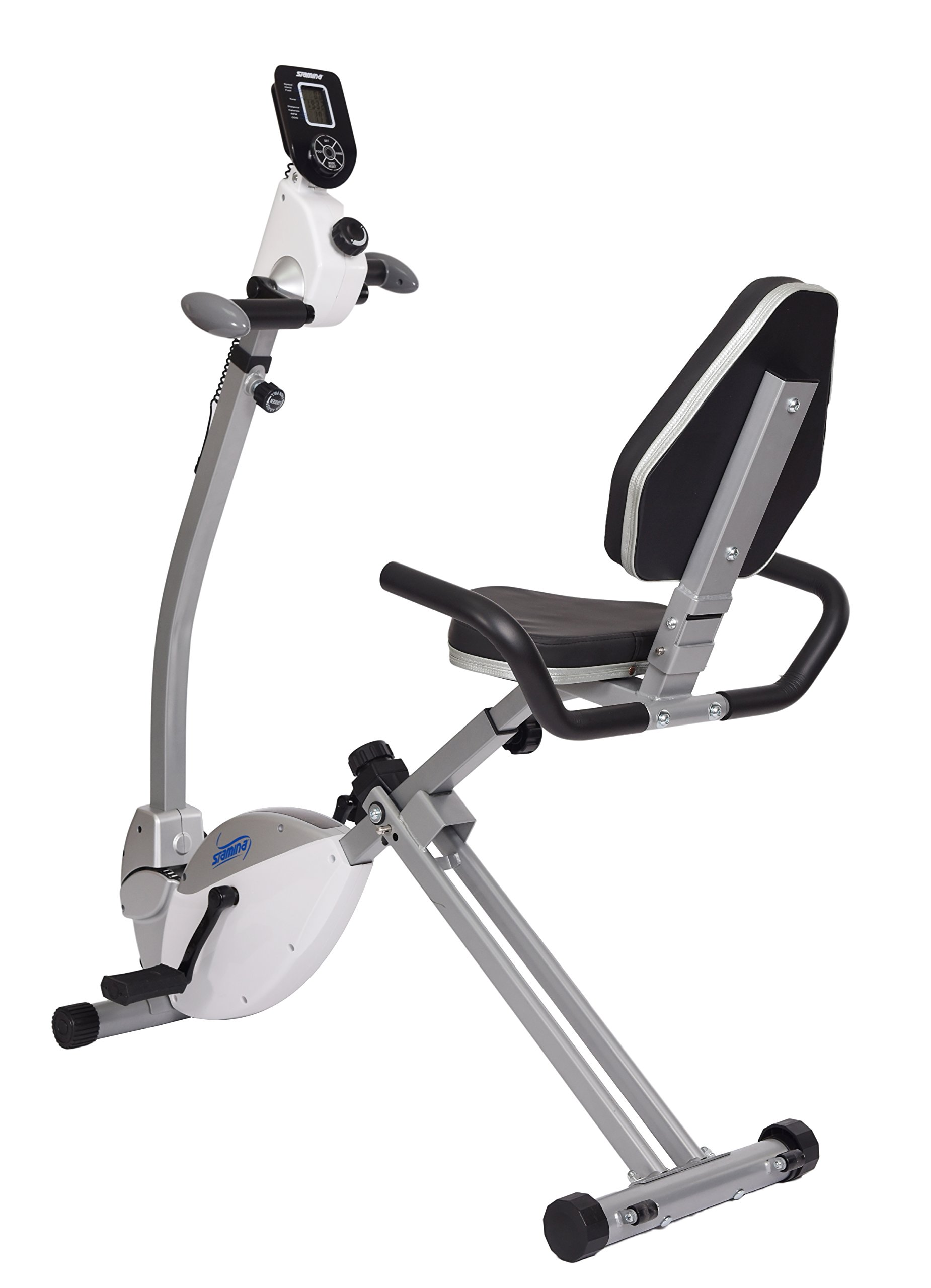 9e5fc8209f5 Get Quotations · Stamina Recumbent Exercise Bike with Upper Body Exerciser