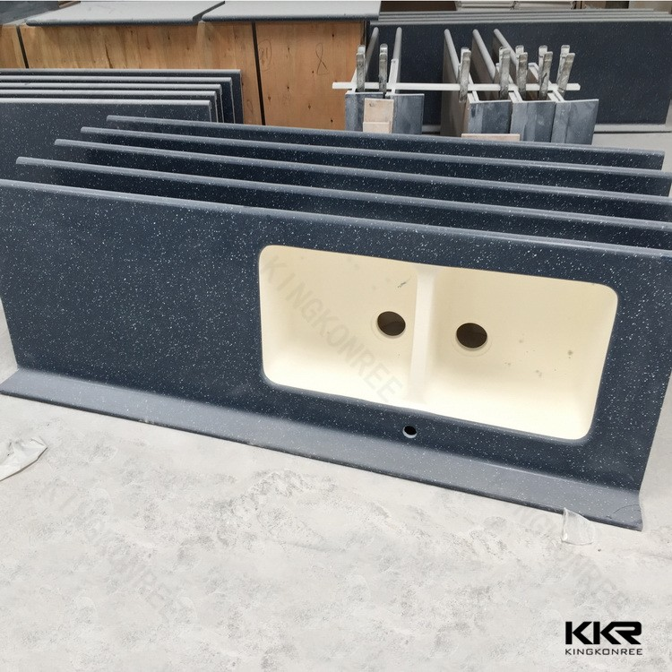 Molded Sink Countertop / Quartz Stone Countertop