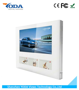 22 inch (1+3)multi media lift advertising LCD screen for elevator