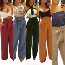 5 colors China clothes <strong>women</strong> factory New Arrival <strong>Women</strong> Clothes Wide-Leg <strong>Pants</strong> High Quality Wholesale <strong>Trousers</strong>