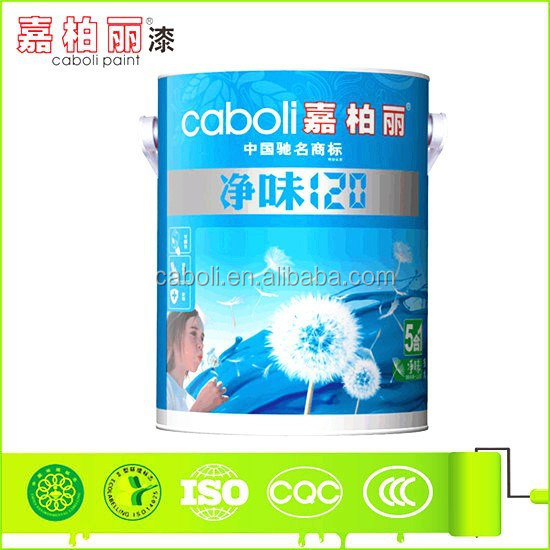 Caboli odorless acrylic latex roller paint inter wall emulsion paint