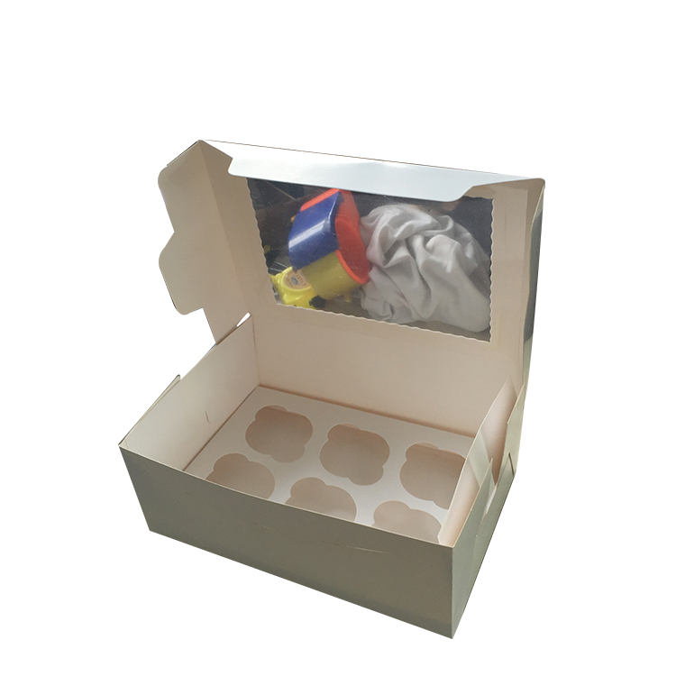 Most  Popular Cheap OEM Kraft Paper Cake Box Packaging