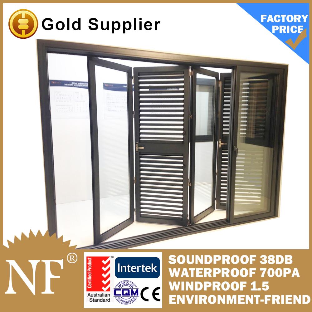 Aluminium Jalousie Doors   Buy Jalousie Doors,Slat Sliding Door With  Tempered Glass,Sliding Doors Type And Glass Door Materia Product On  Alibaba.com