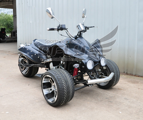 3 wheels racing quad bike